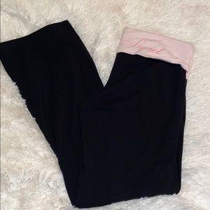Victoria's Secret. Long leg flare pant. Size XL